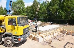 Строительство водопроводной насосной станции