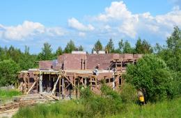 Строительство Большого дома на участке №15