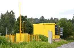 Газокомпрессорная станция и распределительная подстанция