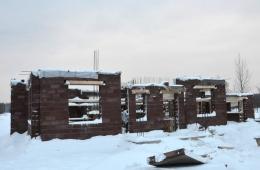 Строительство дома на участке №26