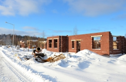 Строительство большого дома 357 кв.м. на участке №20