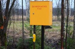 Установка индивидуальных газовых шкафов на участках