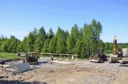 Начало строительства демонстрационных домов