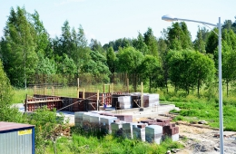 Строительство Малого дома на участке №27