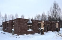 Строительство дома на участке №39