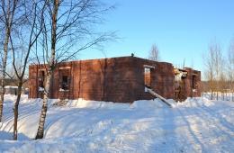 Строительство малого дома 150 кв. м на участке №39