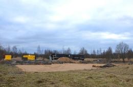 Подготовка к строительству домов на участке №14 и №26