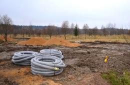 Подготовка к строительству домов